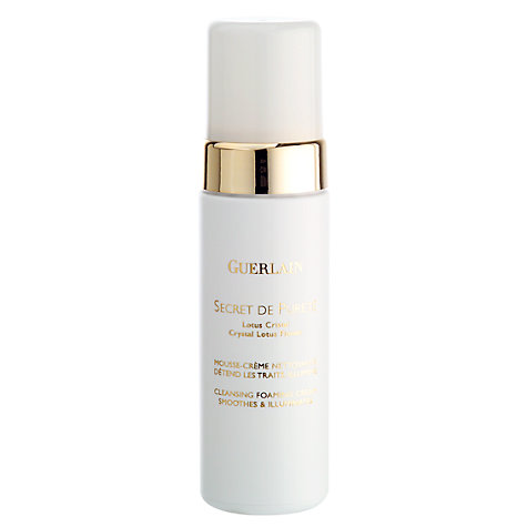 Buy Guerlain Secret de Pureté - Cleansing Foaming Cream, 150ml Online at johnlewis.com