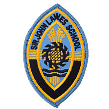 Buy Sir John Lawes School Badge, Blue Multi Online at johnlewis.com