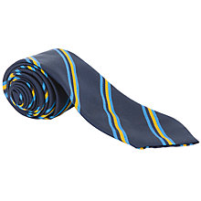 Buy Sir John Lawes School Tie, Blue Multi Online at johnlewis.com