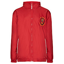 Buy Holy Family School Unisex Tundra Jacket, Red Online at johnlewis.com