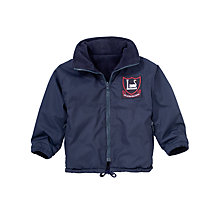 Buy Leehurst Swan School Unisex Reception - Year 11 Coat, Navy Online at johnlewis.com