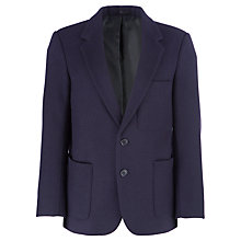 Buy Boys' School Wool Blazer, Navy Online at johnlewis.com