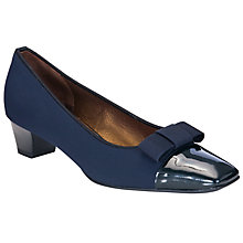 Buy Peter Kaiser Beli Stretch Bow Court Shoes Online at johnlewis.com
