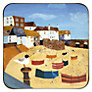 Buy Pimpernel St Ives Windbreak Coasters, Set of 6 Online at johnlewis.com
