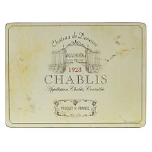 Buy Pimpernel Vin de France Placemats, Set of 6 Online at johnlewis.com