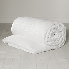Buy John Lewis New Breathable Microfibre Duvet, 10.5 Tog Online at johnlewis.com