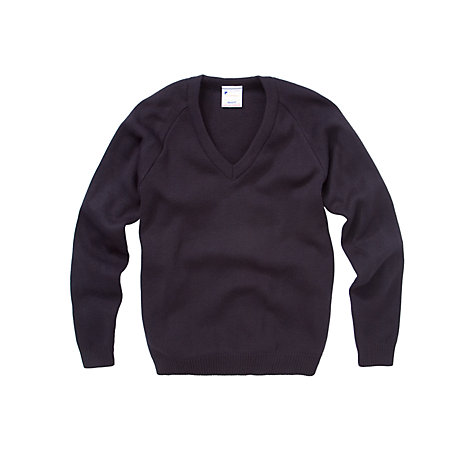 Buy School Acrylic V-Neck Jumper Online at johnlewis.com