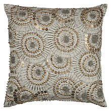 Buy John Lewis Beaded Swirl Cushion Online at johnlewis.com