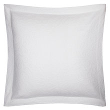 Buy John Lewis Alice Square Oxford Sham Pillow / Cushion Cover, White Online at johnlewis.com
