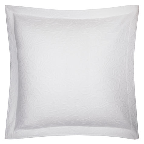 Buy John Lewis Alice Square Oxford Pillow / Cushion Cover, White Online at johnlewis.com
