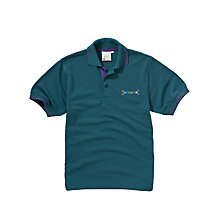 Buy Scouts Short Sleeve Polo Shirt, Green Online at johnlewis.com