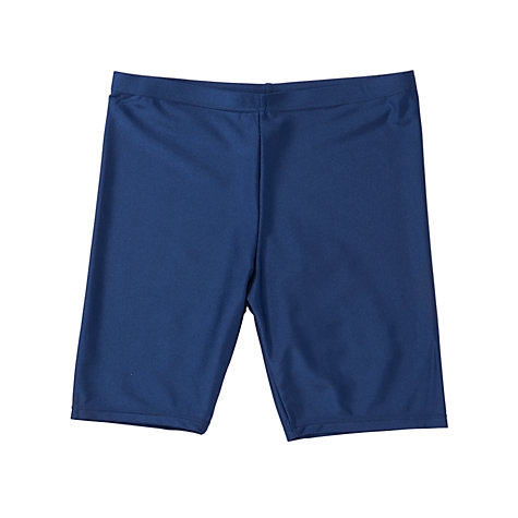Buy John Lewis Cycle Shorts, Navy Online at johnlewis.com