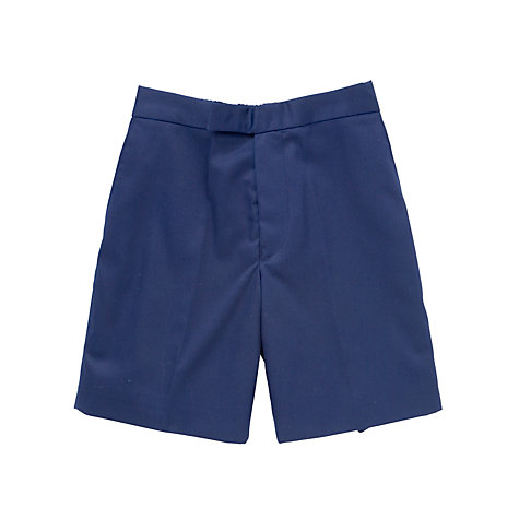 Buy Boys' School Shorts, Navy Online at johnlewis.com