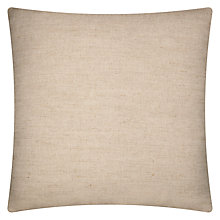 Buy John Lewis Skipton Cushion, Natural Online at johnlewis.com