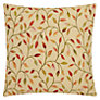 Buy John Lewis Cervino Cushion, Red/ Gold, One size Online at johnlewis.com