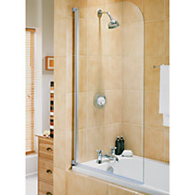Buy Aqualux Euroguard Half Frame Shower Screen Online at johnlewis.com
