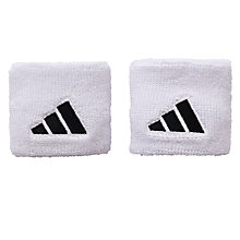 Buy Adidas Short Tennis Wristbands, Pack of 2 Online at johnlewis.com