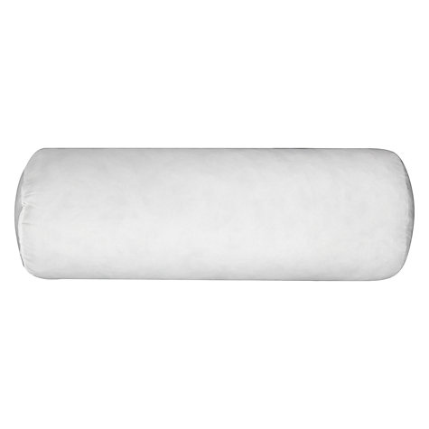 Buy John Lewis Duck Feather Bolster Cushion Pad, L45 x Dia.17cm Online at johnlewis.com