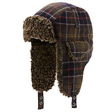 Buy Barbour Tartan Hunter Trapper Hat Online at johnlewis.com