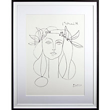 Buy Picasso 'Head, 1946' Framed Print Online at johnlewis.com