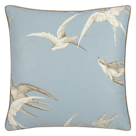 Buy Sanderson 150th Anniversary Swallows Cushion Online at johnlewis.com