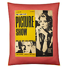 Buy Andrew Martin 'Look at Life' Cushion Online at johnlewis.com
