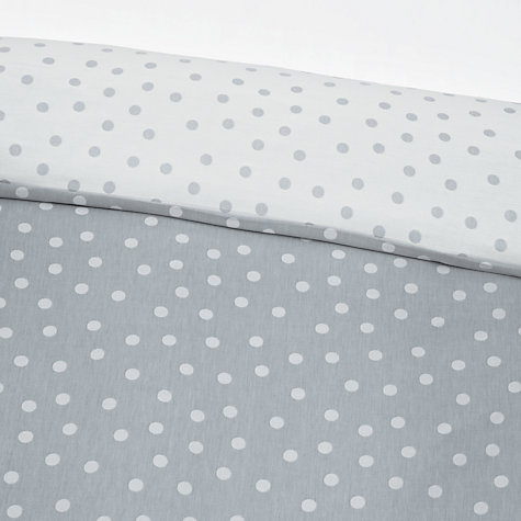 Buy John Lewis Spotty Reversible Bedding Online at johnlewis.com