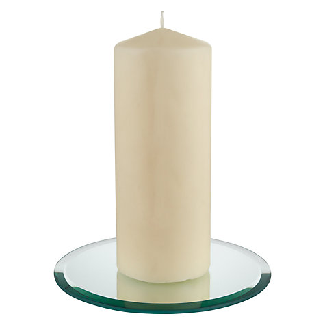 Buy Mirror Candle Plate Online at johnlewis.com