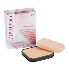 Buy Shiseido Perfect Smoothing Compact Foundation (refill) Online at johnlewis.com