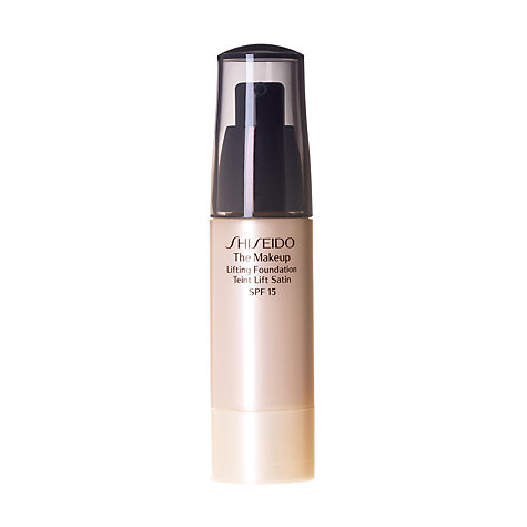 Buy Shiseido Lifting Foundation SPF 15 Online at johnlewis.com