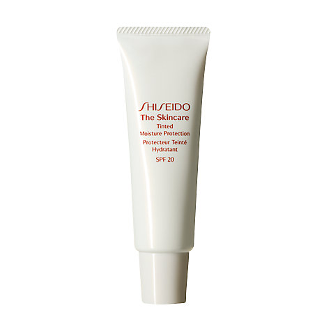Buy Shiseido The Skincare Tinted Moisture Protection SPF 20 Online at johnlewis.com