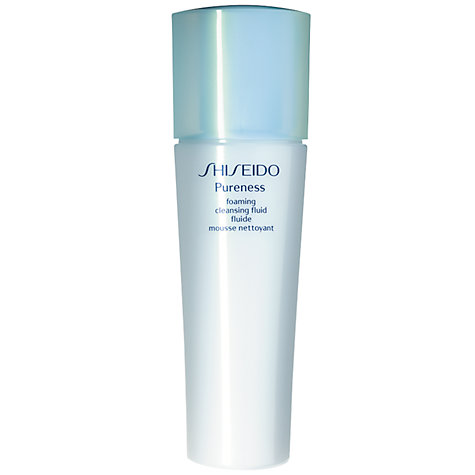 Buy Shiseido Pureness Foaming Cleansing Fluid, 150ml Online at johnlewis.com