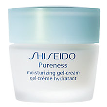 Buy Shiseido Pureness Moisturizing Gel-Cream, 40ml Online at johnlewis.com