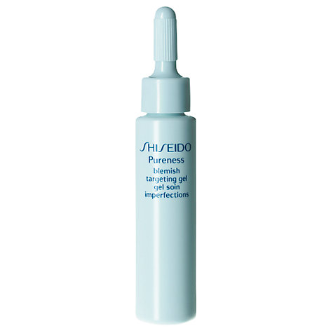 Buy Shiseido Pureness Blemish Targeting Gel, 15ml Online at johnlewis.com