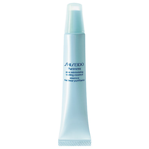 Buy Shiseido Pureness Minimizing Cooling Essence, 30ml Online at johnlewis.com
