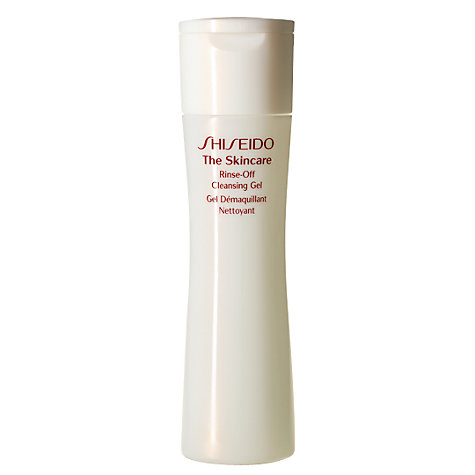 Buy Shiseido The Skincare Rinse-off Cleansing Gel, 200ml Online at johnlewis.com
