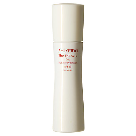 Buy Shiseido The Skincare Day Moisture Protection SPF 15 Online at johnlewis.com