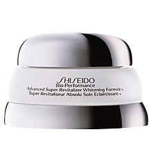 Buy Shiseido Bio-Performance Advanced Super Revitalizer Whitening Formula, 50ml Online at johnlewis.com