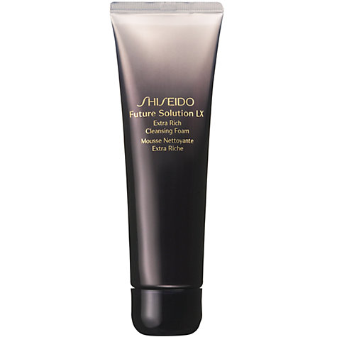 Buy Shiseido Future Solution LX Extra Rich Cleansing Foam, 125ml Online at johnlewis.com
