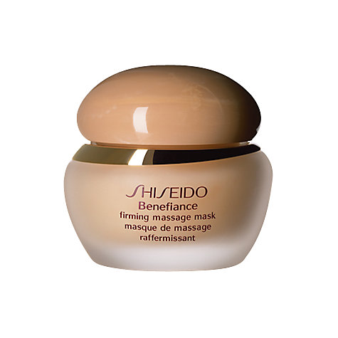 Buy Shiseido Benefiance Firming Massage Mask, 50ml Online at johnlewis.com