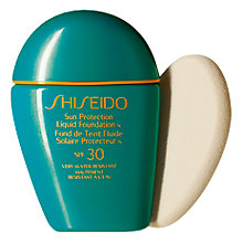 Buy Shiseido Sun Protection Liquid Foundation SPF 30 N Online at johnlewis.com