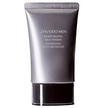 Buy Shiseido Men Moisturizing Self Tanner, 50ml Online at johnlewis.com