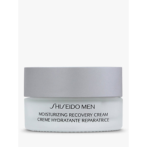 Buy Shiseido Men Moisturizing Recovery Cream, 50ml Online at johnlewis.com