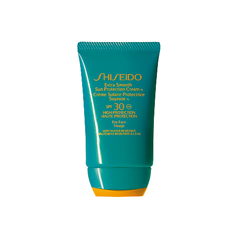 Buy Shiseido Smooth Sun Protection Cream N SPF30, 50ml Online at johnlewis.com