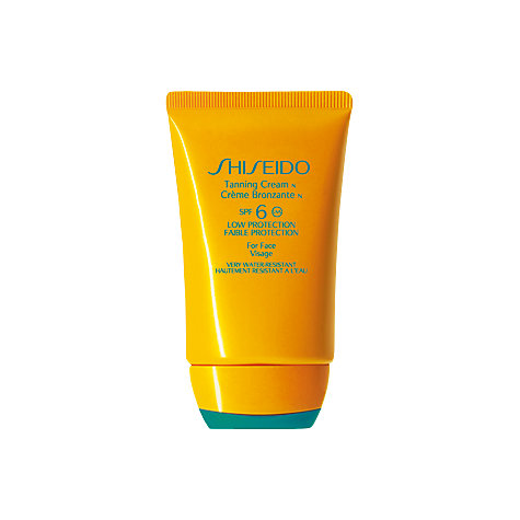 Buy Shiseido Tanning Cream N SPF 6, 50ml Online at johnlewis.com