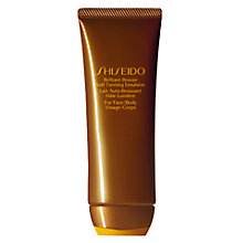 Buy Shiseido Brilliant Bronze Self Tanning Emulsion, 100ml Online at johnlewis.com