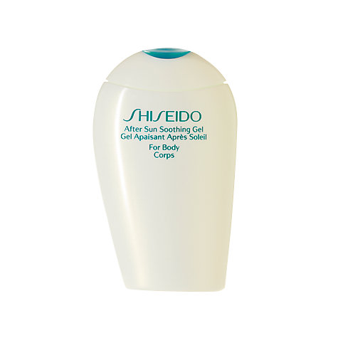 Buy Shiseido After Sun Soothing Gel (Face & Body), 150ml Online at johnlewis.com