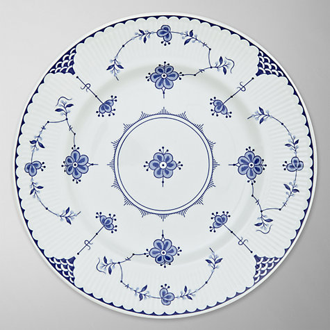 Buy Johnson Brothers Blue Denmark Plate Online at johnlewis.com
