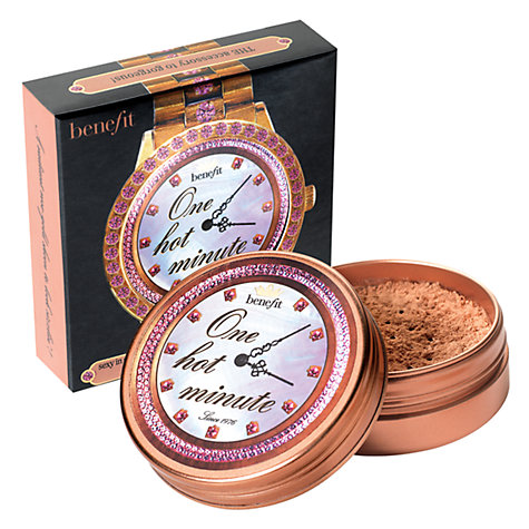 Buy Benefit One Hot Minute Face Powder Online at johnlewis.com