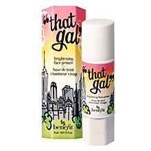 "Buy Benefit ""That Gal"" Brightening Face Primer Online at johnlewis.com"